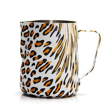 Leopard Stainless Steel Frothing Pitcher