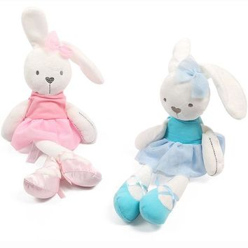 Cute Baby Soft Plush Toys Brinquedos Plush Rabbit Bunny Sleeping Mate Stuffed & Plush Animals Baby Toys For Children