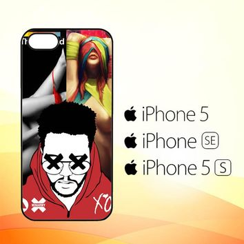 the weeknd Y2279  iPhone 5|5S|SE Case