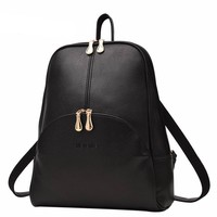 Backpack Leather Softback  Adjustable shoulder strap design Bags