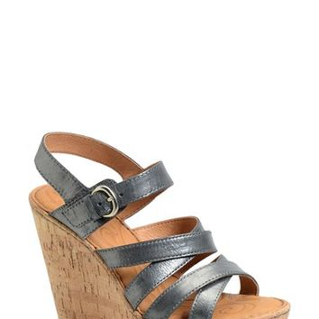 Women's Born 'Zela' Strappy Wedge Sandal,