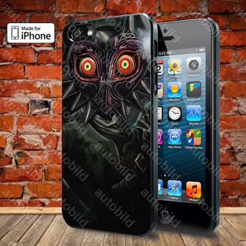 legend of zelda majoras mask Case For iPhone 5, 5S, 5C, 4, 4S and Samsung Galaxy S3, S4
