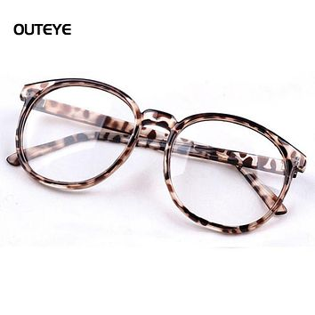 Vintage Men Women Eyeglass Frame Glasses Round Spectacles Clear Lens Eyewear New