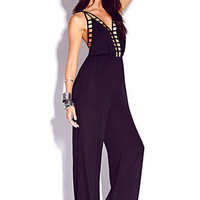 Glam Caged Jumpsuit