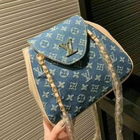 Louis Vuitton LV Hot Sale Women Retro Classic Shoulder Bag Crossbody Satchel