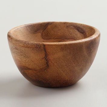 Mini Wooden Prep Bowls, Set of 4 - World Market