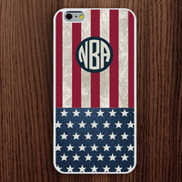 USA flag iphone 6 case,America flag iphone 6 plus case,monogram iphone 5s case,stars and stripes iphone 5c case,flag iphone 5 case,popular iphone 4s case,present iphone 4 case
