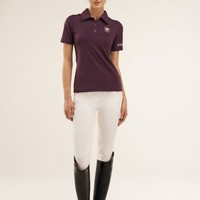 Women's Polo Shirt - Plum - WarmUp