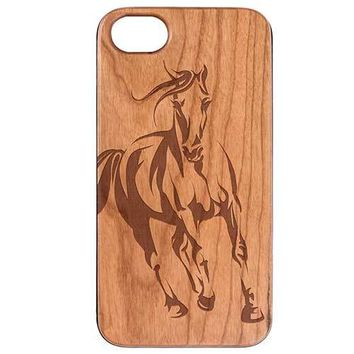 Horse Wooden Phone Case Phone