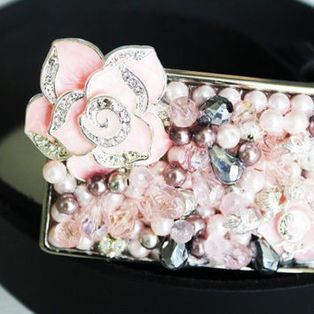 Bling Belt Buckle - Pink Belt Buckle