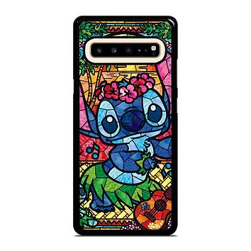 LILO & STITCH STAINED GLASS Samsung Galaxy S10 5G Case
