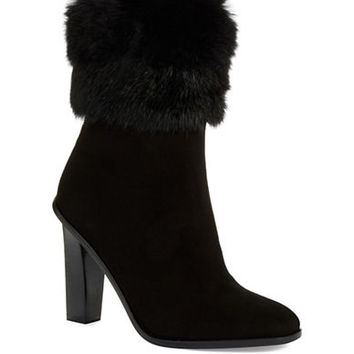 Via Spiga Fur Accented Boots