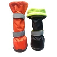 Dog Wellington Boot 100% Waterproof dog shoes with rubber sole winter snow boots Seam