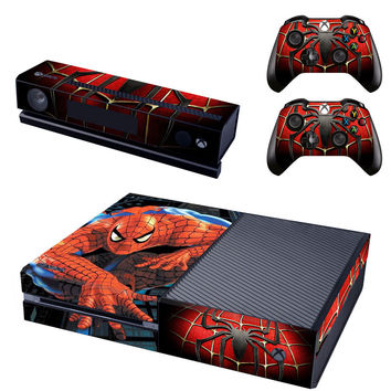 Spider man decal for console xbox one skin sticker