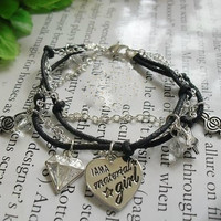 Free Shipping Girls like diamond material Bracelet --by036