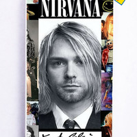 Kurt Cobain Nirvana for Iphone 5 / 5s Cover Rubber Case