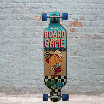 "Madrid Boardgame Dream Top Mount 39"" Longboard"