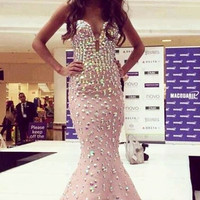 Ellise Rhinestone Luxury Dress