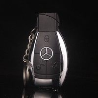 Fashion Design Creative Car Model Windproof Lighter Flame gas key chain lighter Men cigarette lighter Key buckle gift lighter