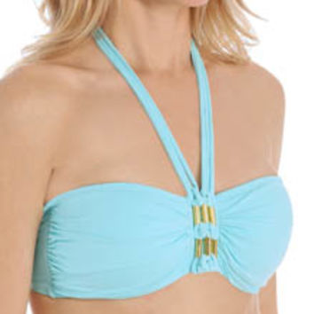 Bleu by Rod Beattie 15109 Solid Bandeau Swim Top