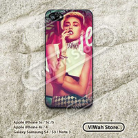 Miley Cyrus, Bangerz, iPhone 5 Case, iPhone 5c Case, iPhone 5s Case, Star, iDol, iPhone 4 Case, iPhone 4s Case, Hard Case Rubber Case, MIC10