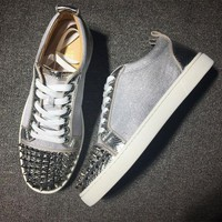VONE7Y2 Cl Christian Louboutin Low Style #2084 Sneakers Fashion Shoes