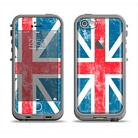 The Scratched Surface London England Flag Apple iPhone 5c LifeProof Fre Case Skin Set