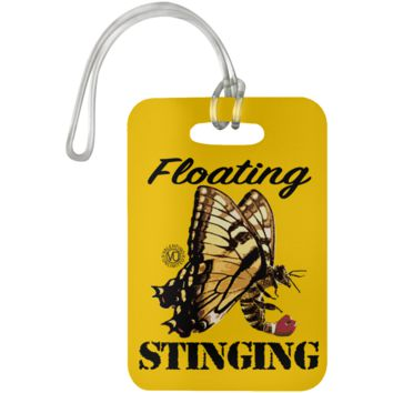 Floating Stinging ButterBee - UN5503 Luggage Bag Tag