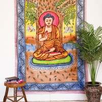 Buddha Blessing Tapestry