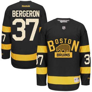 Patrice Bergeron Boston Bruins 2016 NHL Winter Classic Premier Replica Jersey