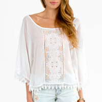 Fully Laced Top $36