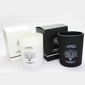 Aromathorapy Glass Home Candles Cup Bougies Blanche Velas Topone Paraffin Wax Scented Candle Yankee Bougie Candle Making Qqz117
