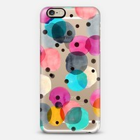 Festive Dots iPhone 6 case by Crystal Walen | Casetify