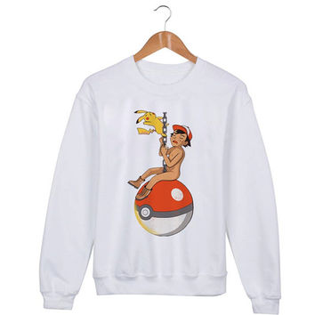 Pokemon Sweater sweatshirt unisex adults size S-2XL