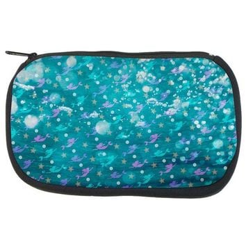 DCCKJY1 Mermaids Pearls and Starfish Pattern Travel Bag