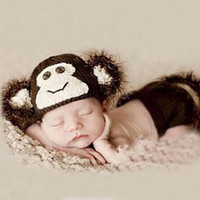 Newborn Baby Girls Boys Crochet Knit Costume Photo Photography Prop = 4457603588