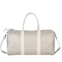Champagne Voyager Duffel Bag - MISCHA Champagne Voyager Duffel Bag