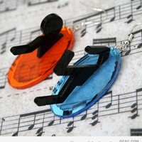 9GAG - Portal Earrings
