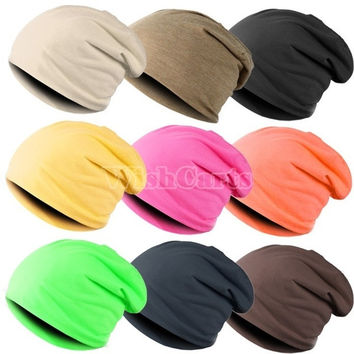 Unisex Hip-hop Cap Beanie Hat Winter Slouch = 1651243588