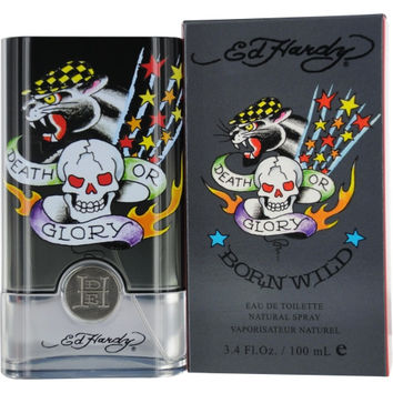 ED HARDY BORN WILD by Christian Audigier EDT SPRAY 3.4 OZ
