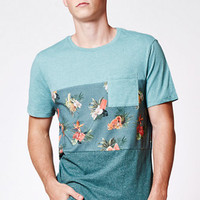 On The Byas Pop Tropical Pieced Pocket T-Shirt at PacSun.com