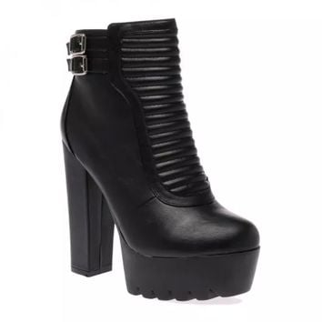 Sofie Black Ankle Boots
