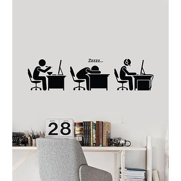 Vinyl Wall Decal Gamer Lifestyle Funny Gaming Room Decor Video Games Stickers Mural (ig6186)
