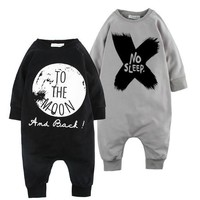 AUTUMN BABY BOYS CLOTHES ROMPERS FOR BABY GIRLS CLOTHES VESTIDOS reine des neiges KIKIKIDS bobo choses baby clothes