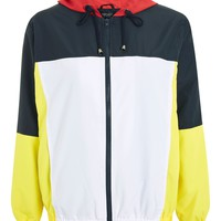 Colour Block Windbreaker - New In Fashion - New In