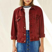 Urban Renewal Recycled Rust Denim Jacket