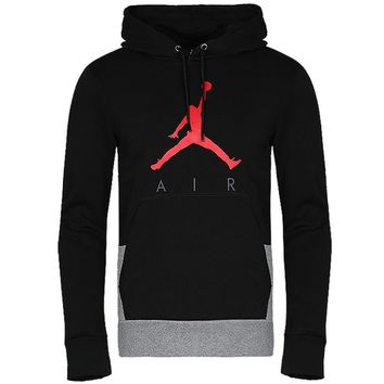 Jordan Men Fashion Cotton Long Sleeve Top Sweater Hoodie