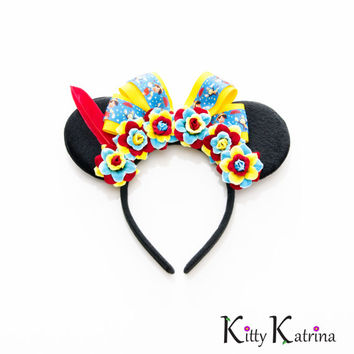 Pinocchio Mouse Ears Headband, Pinocchio Costume, Mickey Mouse Ears, Disney Birthday Ears, Disney Bound, Disney Ears, Disneyland Paris