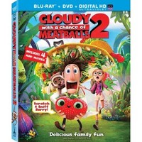 Cloudy With a Chance of Meatballs 2 (2 Discs) (Includes Digital Copy) (UltraViolet) (Blu-ray/DVD) (W)