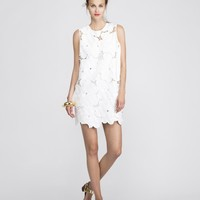 Cynthia Rowley - Oversized Floral Lace Sleeveless Shift Dress